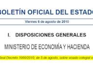 Real Decreto sobre el VISADO COLEGIAL OBLIGATORIO.