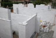 Muros de carga que se cortan con serrucho.