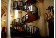 "Impresionante escalera de caracol. ""Capela Loretto"""