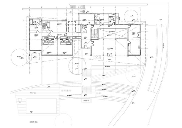 equipo aparejador - Arquitecto Tecnico - Plano obra Ciudalcampo 01