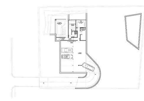 equipo aparejador - Arquitecto Técnico - Vivienda Las Rozas - Joaquín Torres 07 Plano planta sótano