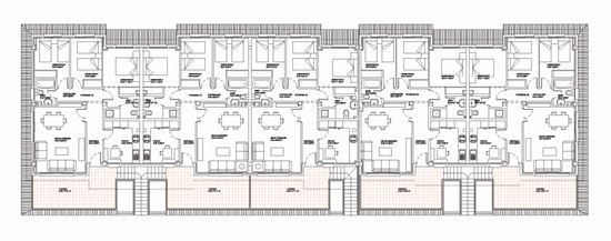 22 viviendas SR6 Belmonte 01 - equipo aparejador - Arquitecto Técnico