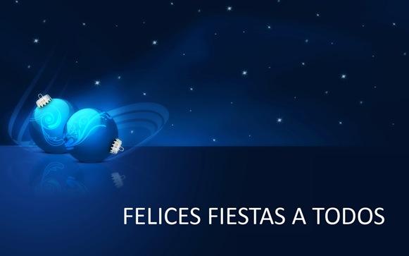 Desde equipo aparejador os deseamos una Felices Fiestas.