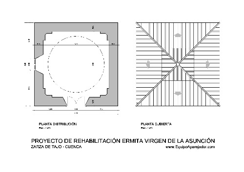Restauración Ermita 01 - equipo aparejador - Arquitectos Técnicos