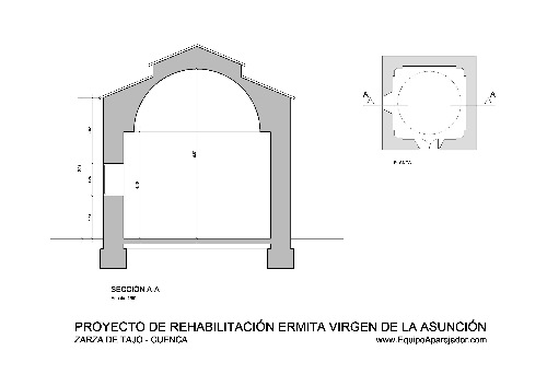 Restauración Ermita 02 - equipo aparejador - Arquitectos Técnicos
