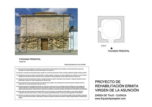 Restauración Ermita 03 - equipo aparejador - Arquitectos Técnicos