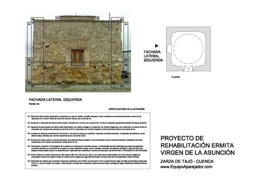 Restauración Ermita 04 - equipo aparejador - Arquitectos Técnicos