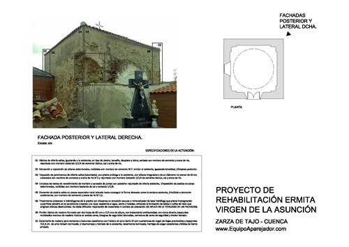 Restauración Ermita 05 - equipo aparejador - Arquitectos Técnicos