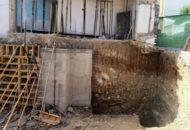 Seguimiento de obra – equipo aparejador: Bloque de dos viviendas y local en Santorcaz – Madrid. (03) Bataches en muro de sótano.