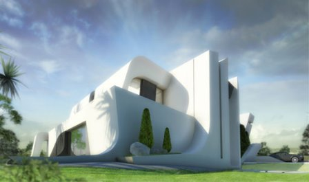 Obra vivienda unifamiliar Las Rozas de Madrid. Cubierta. Equipo Aparejador