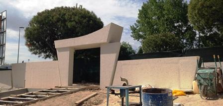 Obra vivienda unifamiliar Las Rozas de Madrid. Equipo Aparejador