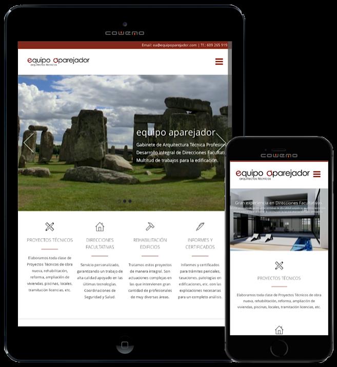 Web equipo aparejador - Arquitectos Técnicos